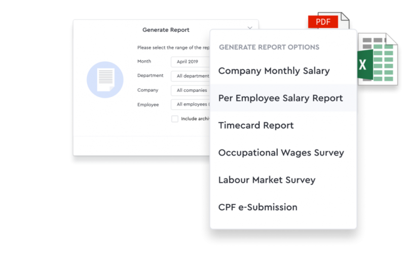 Generate Detailed Cost Report