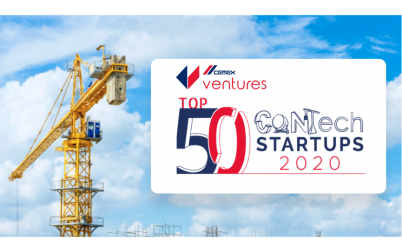 Hubble named one of the Top 50 Promising Construction Tech Startups!